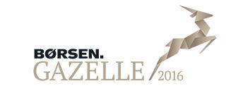 Vi modtog Gazelle prisen 2016